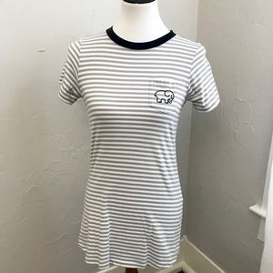 Authentic Ivory Ella T-Shirt Dress - XS